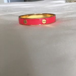Vince Camuto - Red and Gold bangle bracelet